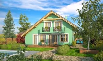 Veľký dom s izbou aj na prízemí vhodný pre bývanie 5-6 člennej rodiny.