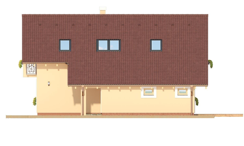 Pohľad 2. - Veľký dom s izbou aj na prízemí vhodný pre bývanie 5-6 člennej rodiny.