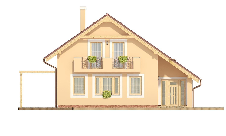 Pohľad 1. - Veľký dom s izbou aj na prízemí vhodný pre bývanie 5-6 člennej rodiny.