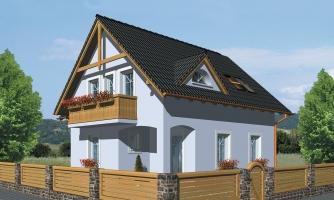 projekt domu PREMIER 98