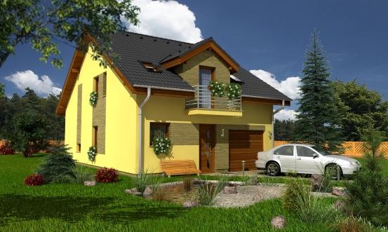 projekt domu PREMIER 99