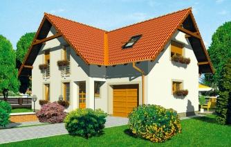 5-izbový rodinný dom s garážou.