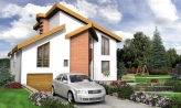 Úžasný moderný rodinný dom s garážou