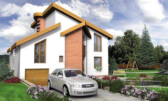 projekt domu PRESTIGE 210