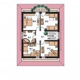 Pôdorys poschodia - RIVIERA 195