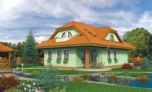 projekt domu RIVIERA 195