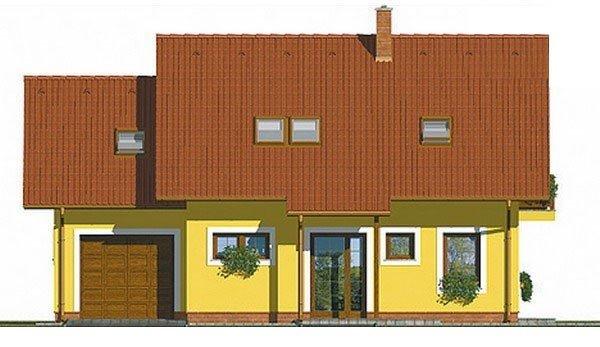 Pohľad 3. - Klasický rodinný dom s garážou vhodný ako dvojdom