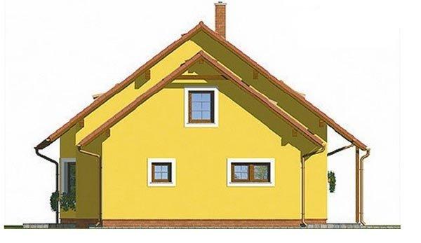 Pohľad 4. - Klasický rodinný dom s garážou vhodný ako dvojdom