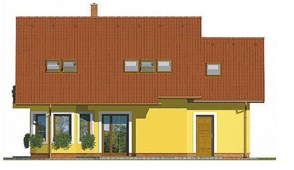 Pohľad 1. - Klasický rodinný dom s garážou vhodný ako dvojdom