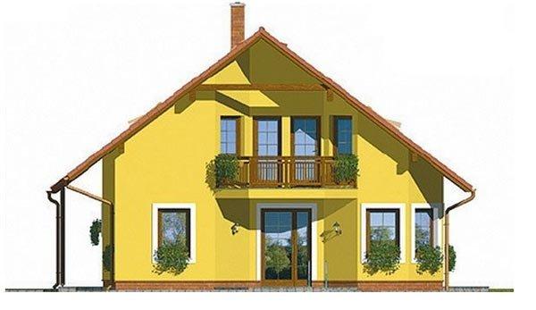 Pohľad 2. - Klasický rodinný dom s garážou vhodný ako dvojdom