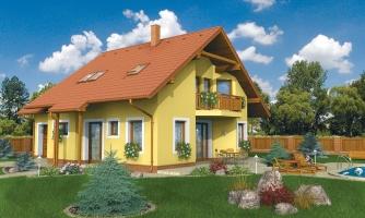 Klasický rodinný dom s garážou vhodný ako dvojdom