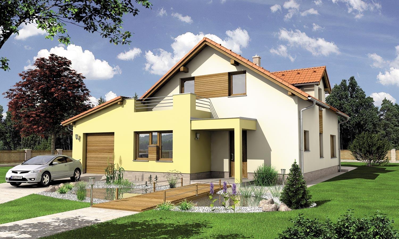 projekt domu STYL 2