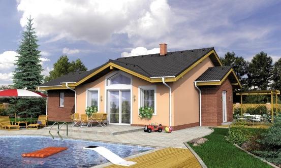 projekt domu TAHITI PLUS