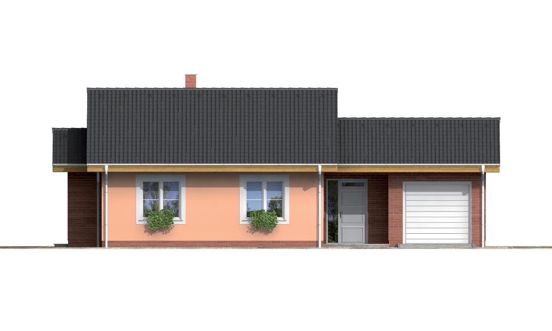 Pohľad 1. - Prízemný domček vhodný ako dvojdom