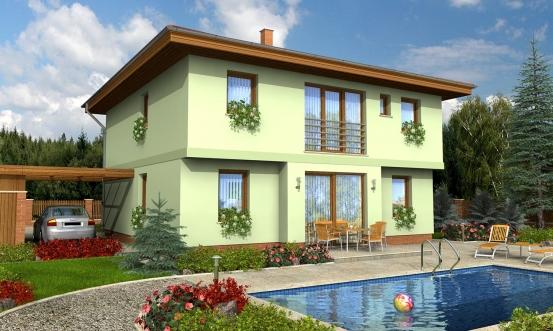 projekt domu TENUITY 500