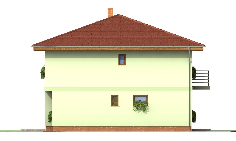 Pohľad 2. - Klasický poschodový rodinný dom so stanovou strechou