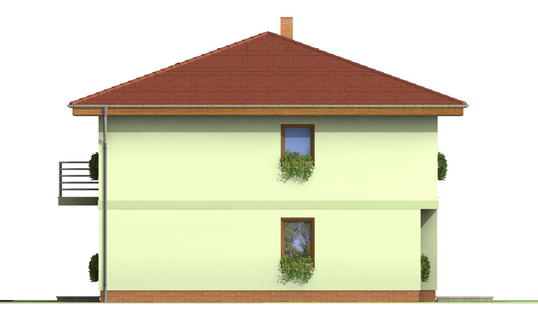 Pohľad 4. - Klasický poschodový rodinný dom so stanovou strechou