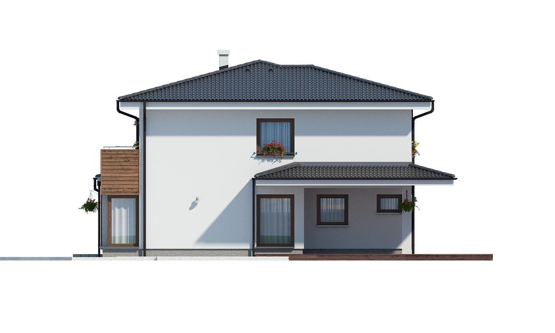 Pohľad 2. - Dom pre náročných stavebníkov s dvojgarážou