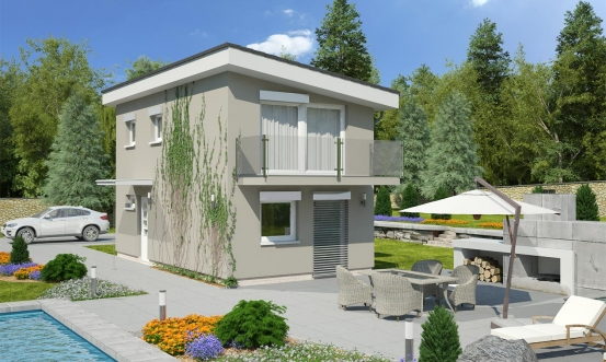 projekt domu TREND 261