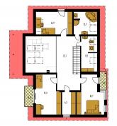Pôdorys poschodia - TREND 262