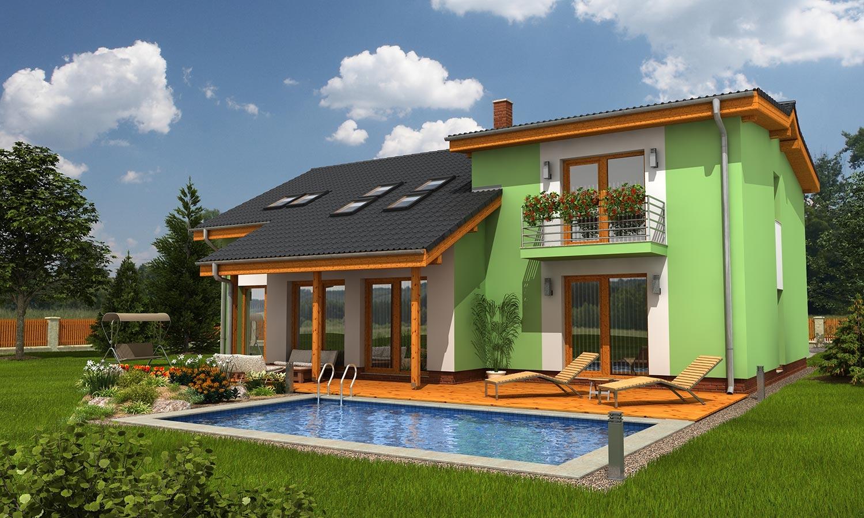 projekt domu TREND 262