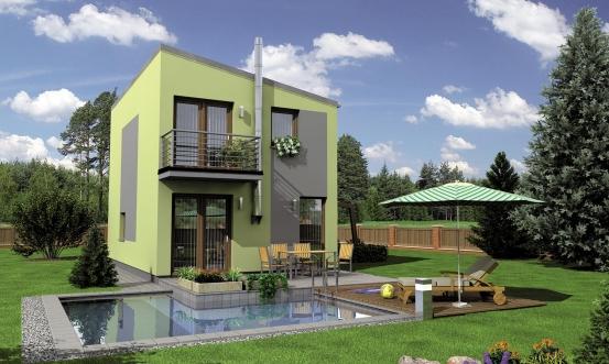 projekt domu TREND 264