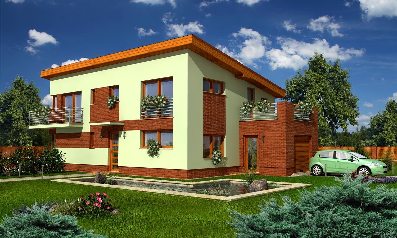 projekt domu TREND 266
