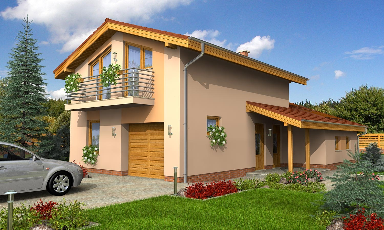 projekt domu TREND 267