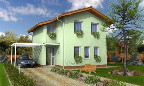 projekt domu TREND 268