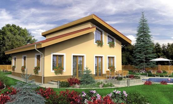 projekt domu TREND 270