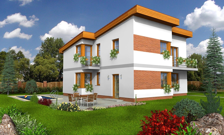 projekt domu TREND 271