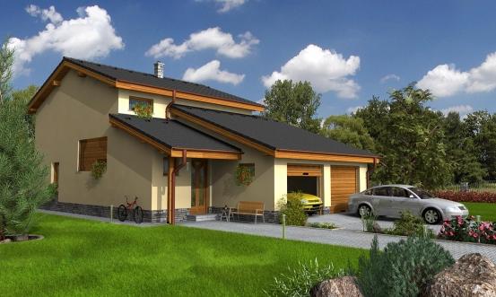 projekt domu TREND 272