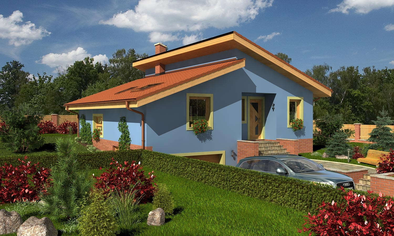 projekt domu TREND 275