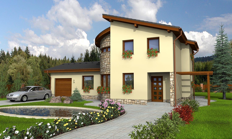 projekt domu TREND 277