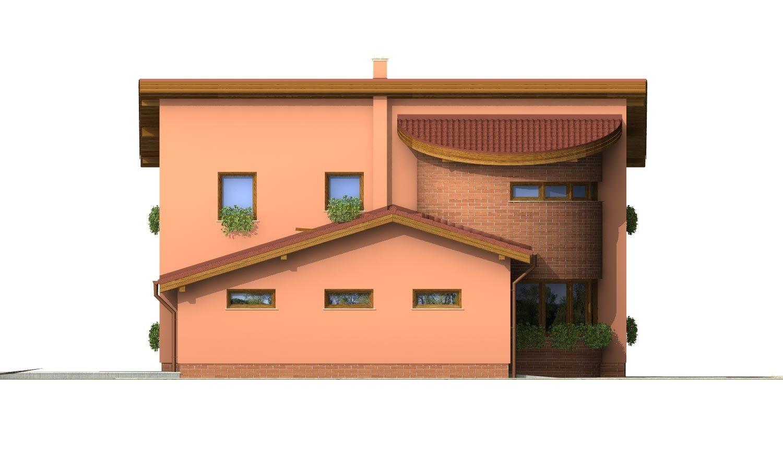 Pohľad 2. - Moderný dom so zaujímavou dispozíciou