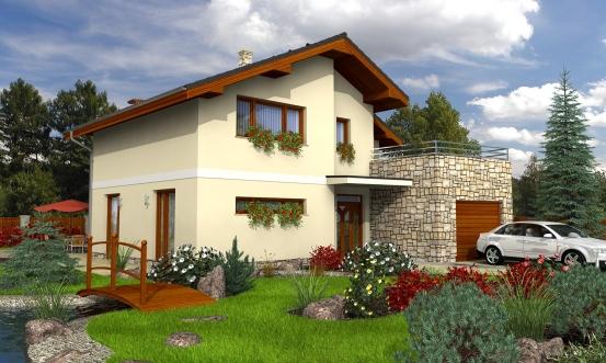 projekt domu TREND 278