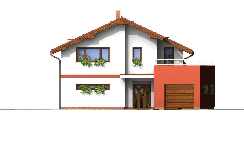 Pohľad 1. - Podkrovný dom so zaujímavou dispozíciou a garážou