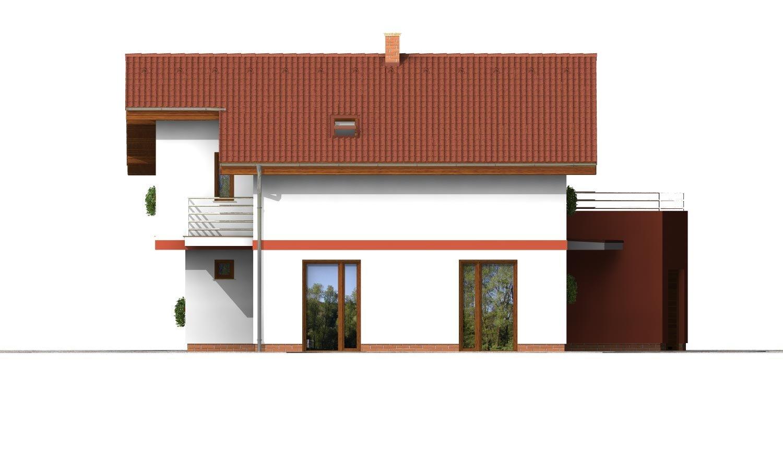 Pohľad 2. - Podkrovný dom so zaujímavou dispozíciou a garážou