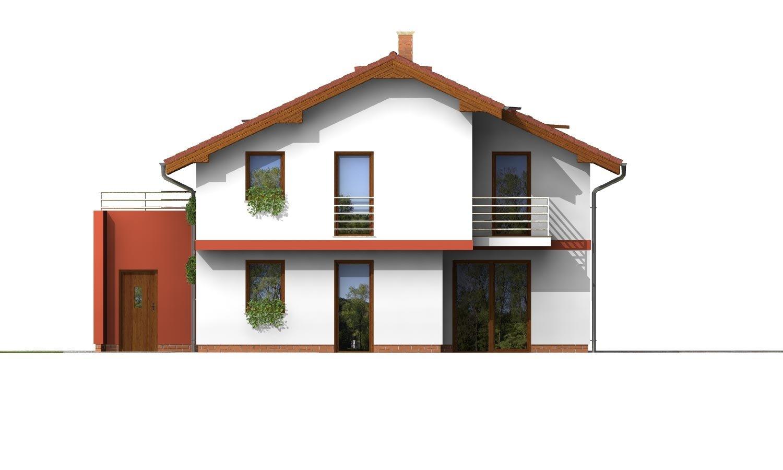 Pohľad 3. - Podkrovný dom so zaujímavou dispozíciou a garážou