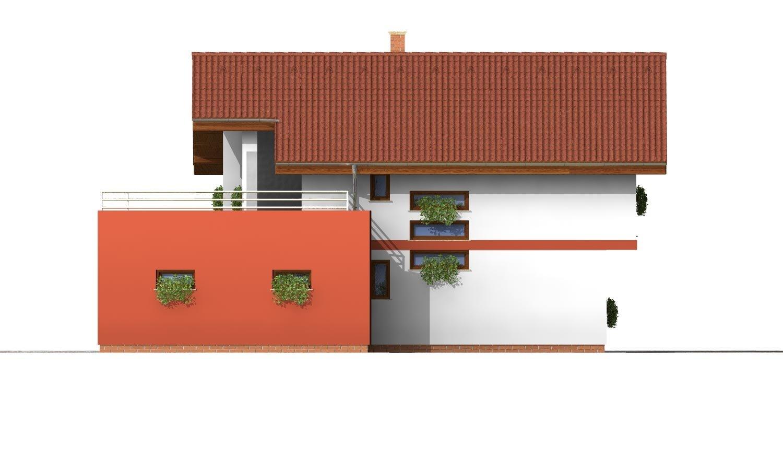 Pohľad 4. - Podkrovný dom so zaujímavou dispozíciou a garážou