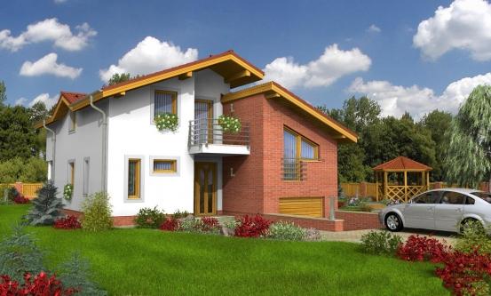 projekt domu TREND 281