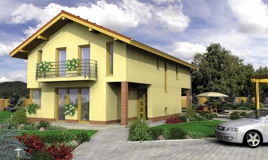 projekt domu TREND 282