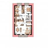 Pôdorys poschodia - TREND 282