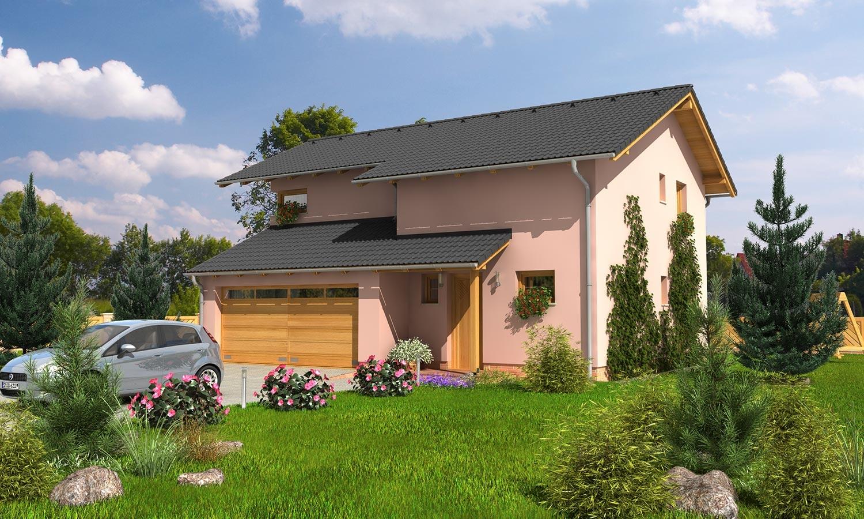 projekt domu TREND 283