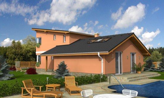 projekt domu TREND 284