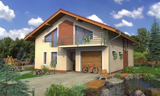 projekt domu TREND 285