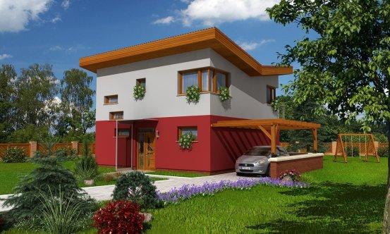 projekt domu TREND 286