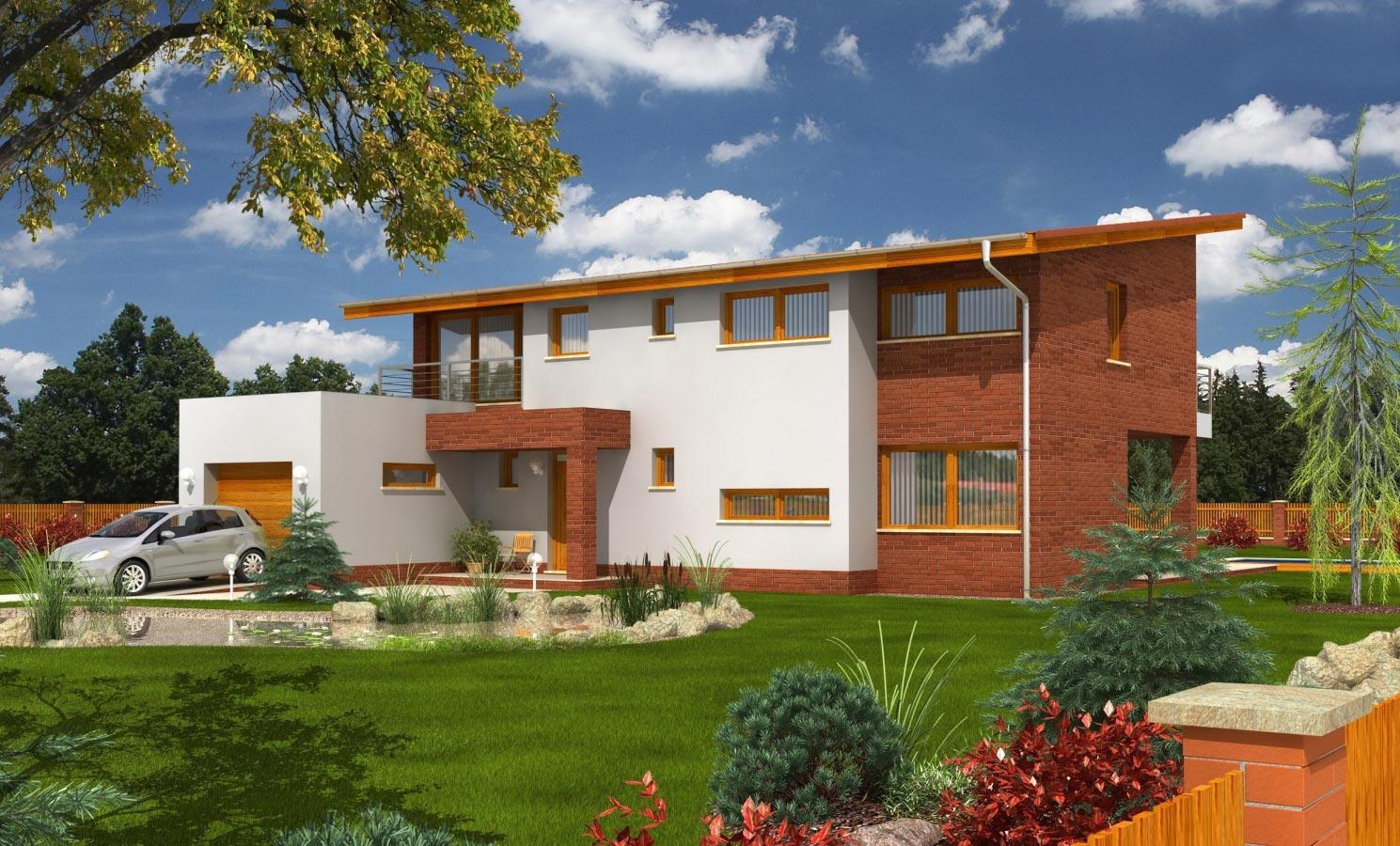 projekt domu TREND 288