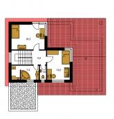 Pôdorys poschodia - TREND 291