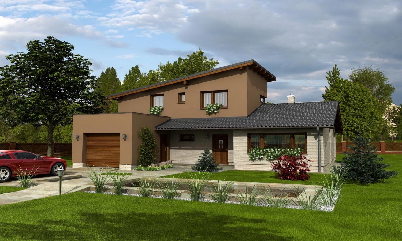 projekt domu TREND 291